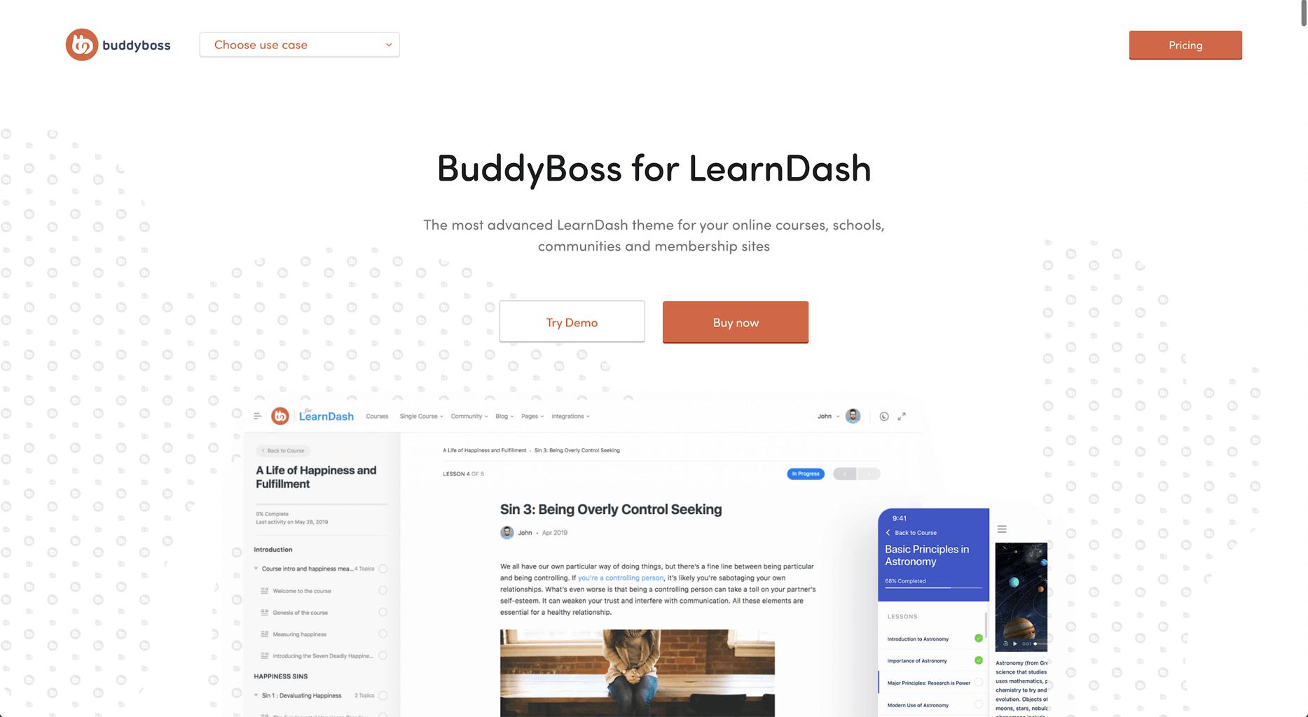 BuddyBoss integrating with LearnDash