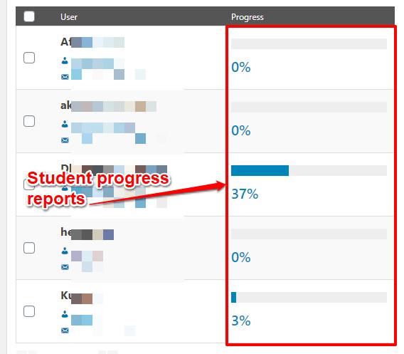 LearnDash reporting