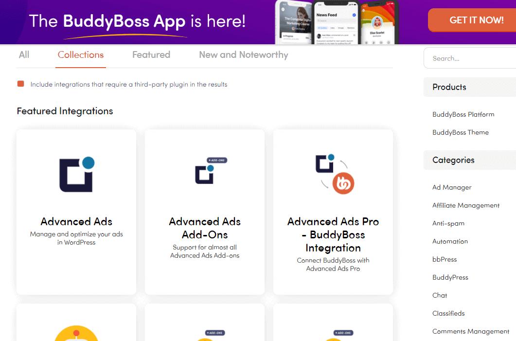 BuddyBoss app