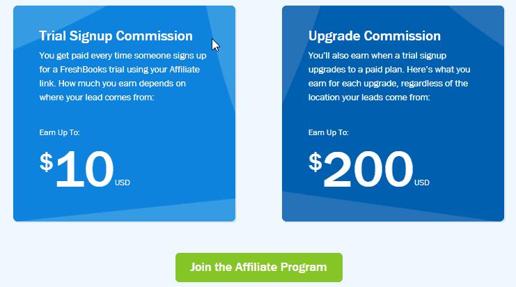 Freshbooks commission