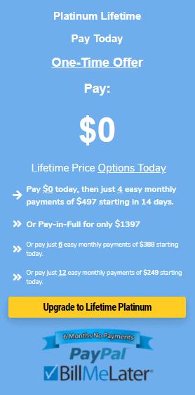 GrooveFunnels Lifetime offer