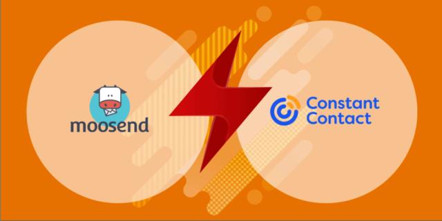 Moosend vs Constant Contact