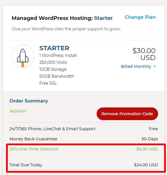 Rocket.net discounted price