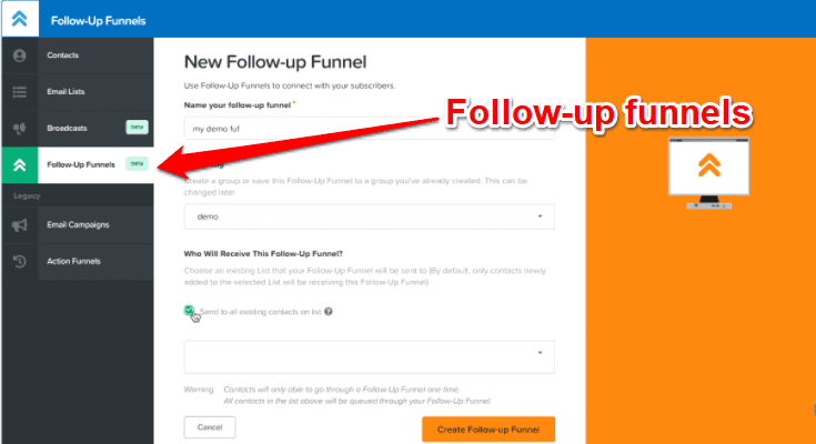 ClickFunnels follow up funnels