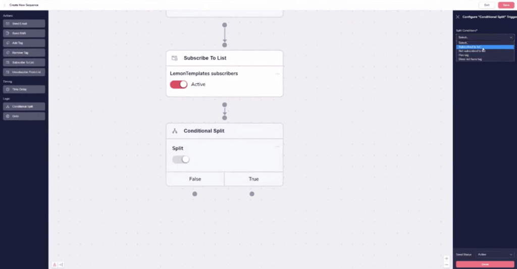 GrooveFunnels automation