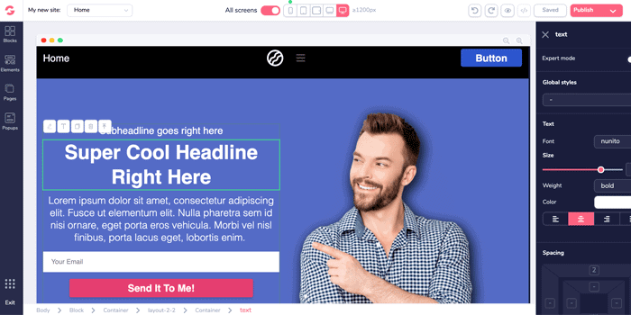 GrooveFunnels landing pages