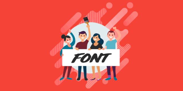 fonts for websites