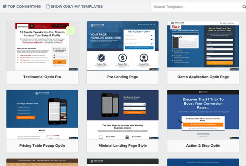 ClickFunnels funnel templates