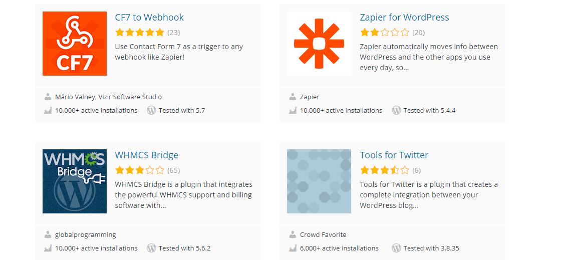 Zapier for WordPress