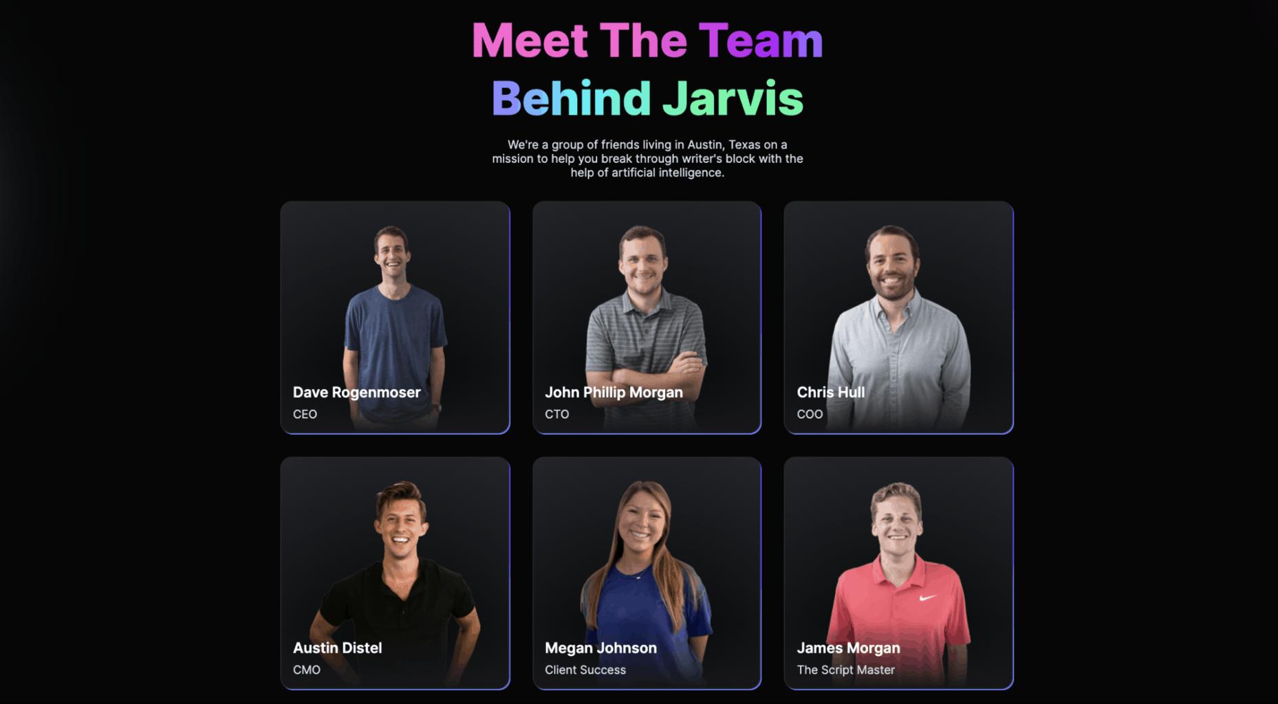 Team behind Jarvis.ai