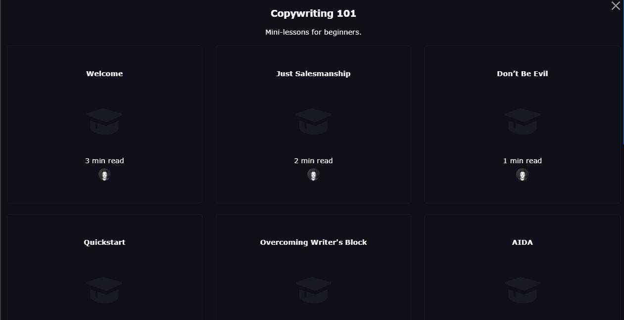 ClosersCopy copywriting 101